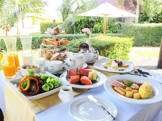 In Villa Breakfast for couple