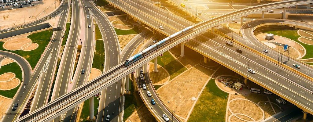 Tour privado guiado pela cidade de Dubai de metrô