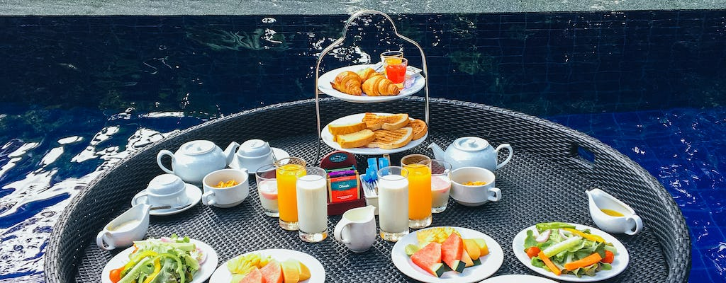 Floating Continental Breakfast for couple