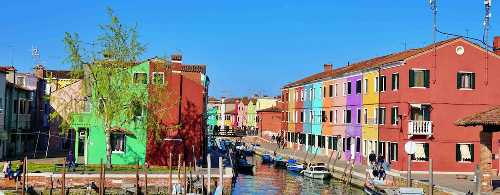 Venice with Murano and Burano 1-day tour