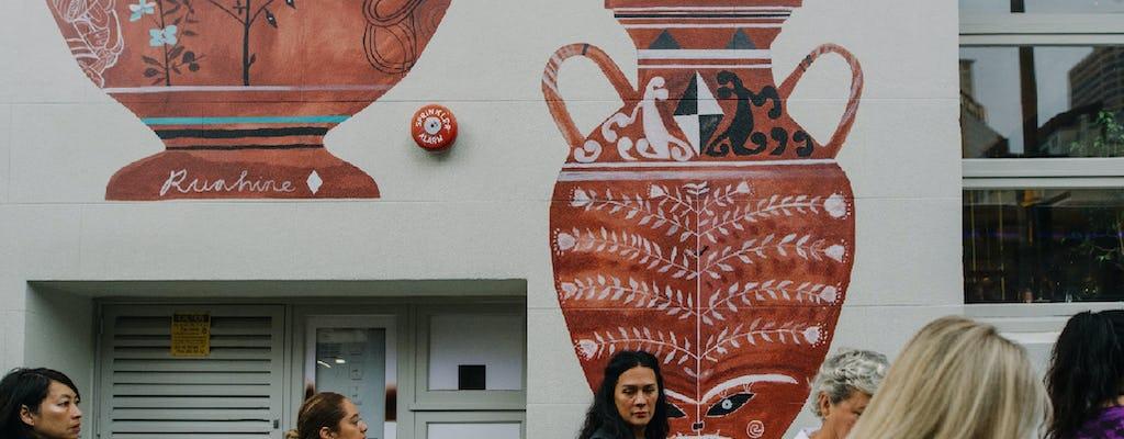 Пешеходная экскурсия от Хикои до Бритомарта современное искусство маори в Окленде
