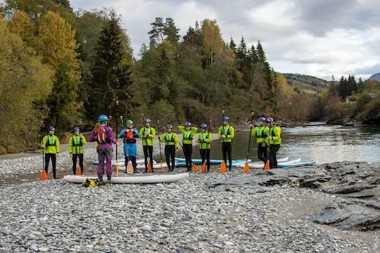 Geführtes SUP-Erlebnis im Fluss Vosso