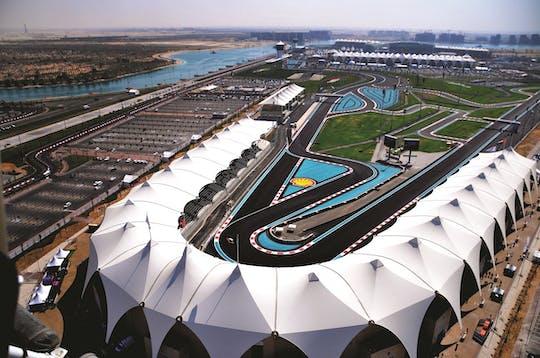 Yas Marina quad circuit locatie tour