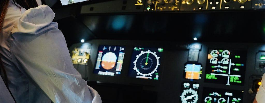 Experiência em simulador de voo de avião em Bordeaux