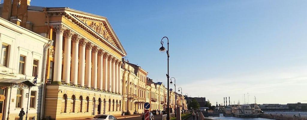Audiogeleide wandeltocht door Sint-Petersburg: van Admiraliteit tot Nieuw-Holland