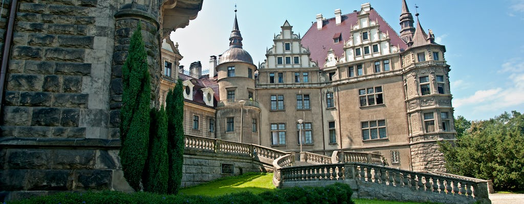 Moszna Castle and Plawniowice Palace tour from Katowice