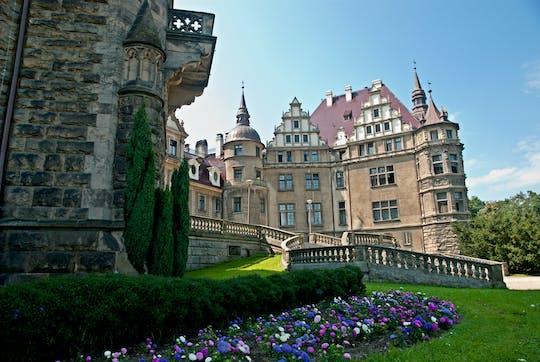 Passeio pelo Castelo Moszna e Palácio Plawniowice saindo de Katowice