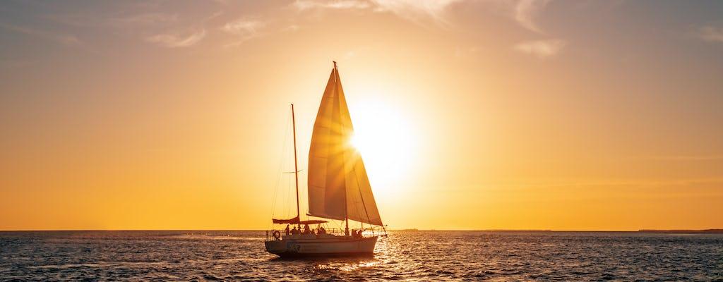 Sunset sailboat experience on Lake Garda with aperitif