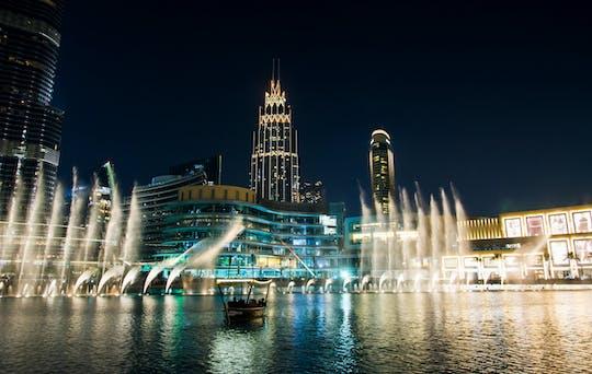 Tour privado de dia inteiro em Dubai com show da fonte The Palm