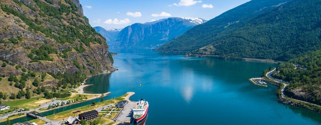 Ganztägige geführte Rundfahrt von Bergen zum Sognefjord mit der Flam