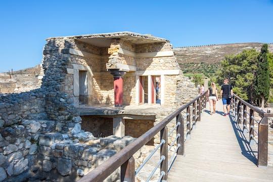 Excursion à Cnossos - au départ de Réthymnon