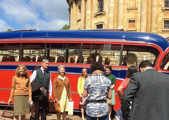 Inspecteur Morse begeleide wandeling in Oxford