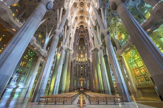 Sagrada Familia entrance tickets with audio guide