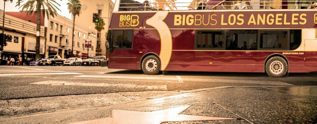 Big Bus-tour door Los Angeles