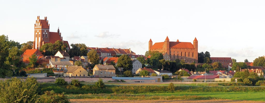 Gniew Castle private guided tour with transport from the Tricity