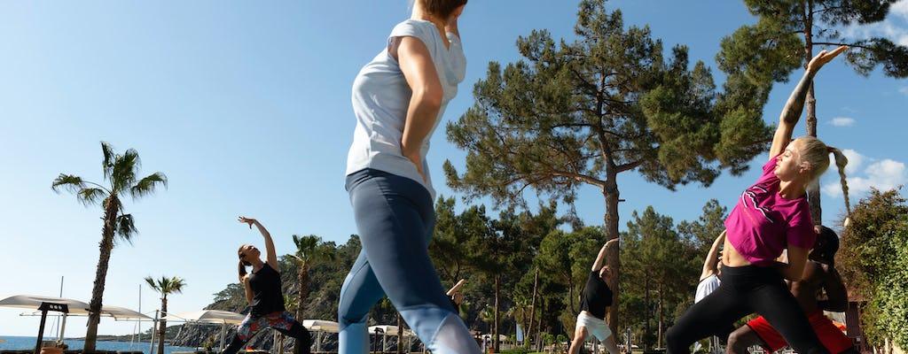 Zakynthos Yoga Sitzung