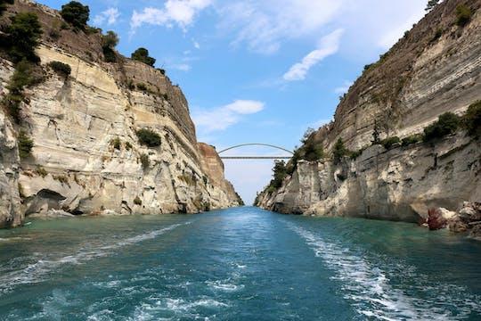 Kanaal van Korinthe met de Boot