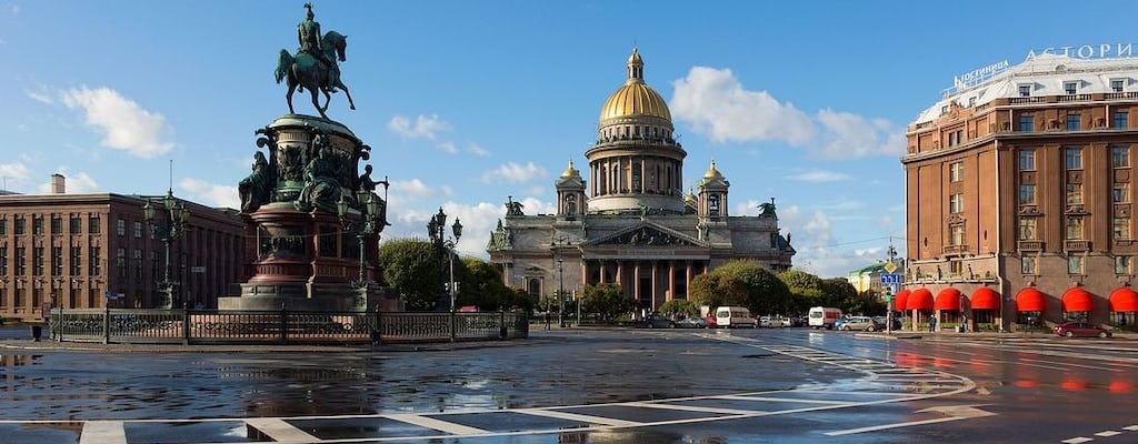 Momenti salienti del tour a piedi con audioguida di San Pietroburgo