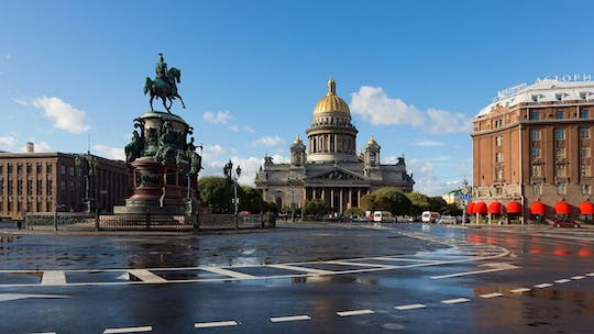 Highlights of St. Petersburg audioguided walking tour