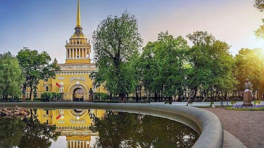 São Petersburgo: visita autoguiada da Bolsa de Valores ao Almirantado