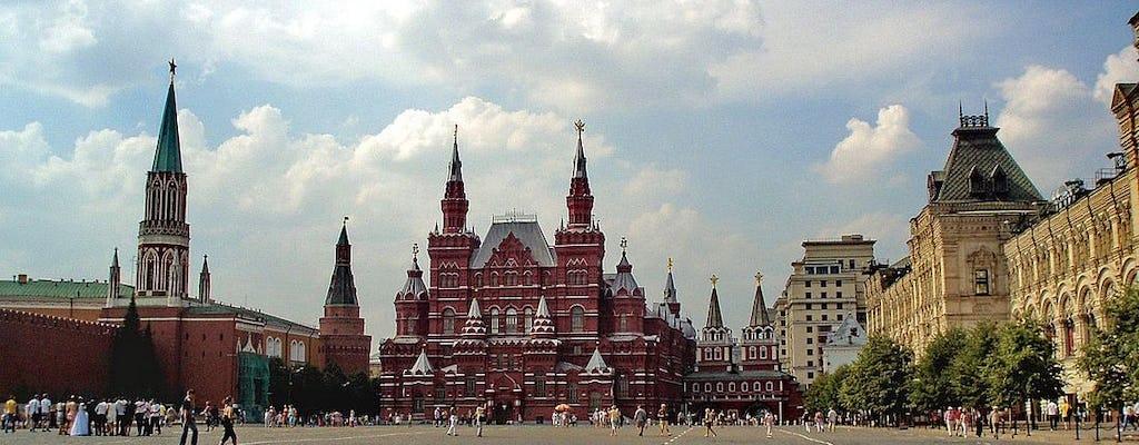 Selbstgeführte Audiotour rund um die Festungsmauer im Moskauer Kreml