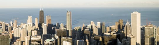 Punti salienti di Chicago con tour privato di mezza giornata dell'Hancock Tower Observation Deck