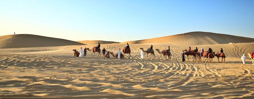 Caminata privada en camello en Abu Dhabi