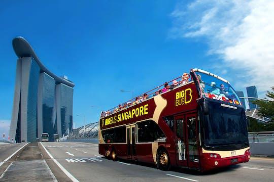 Tour do Big Bus em Cingapura