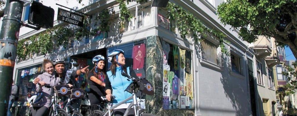 Visite guidée en vélo électrique des rues de San Francisco