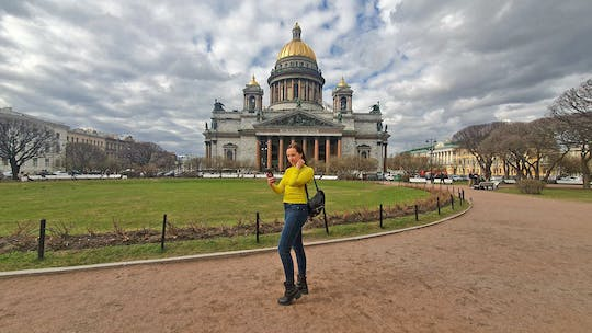 Isaac's cathedral and colonnade audio-guided tour in St. Petersburg
