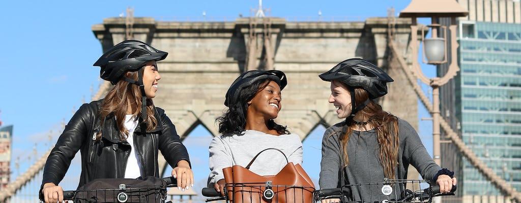 Alquiler de bicicletas en el puente de Brooklyn