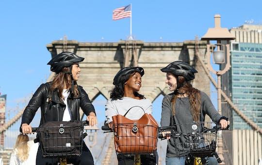 Alquiler de bicicletas por día en el puente de Brooklyn