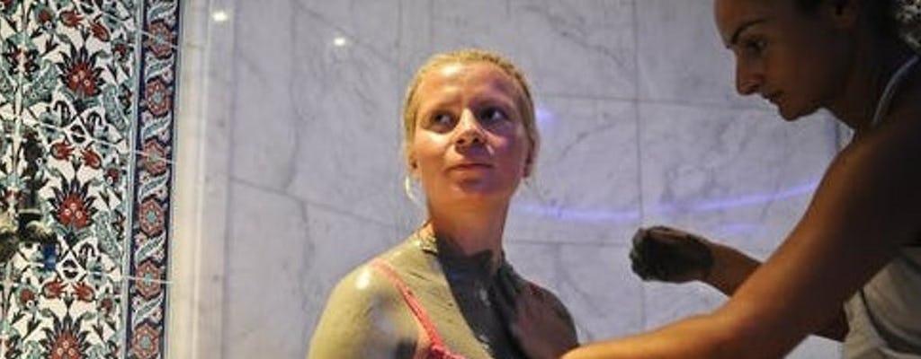 Bain de boue Artemis Hamam, gommage et massage à la mousse