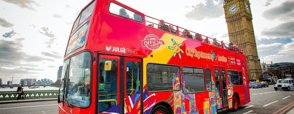 London city tour hop-on hop-off bus