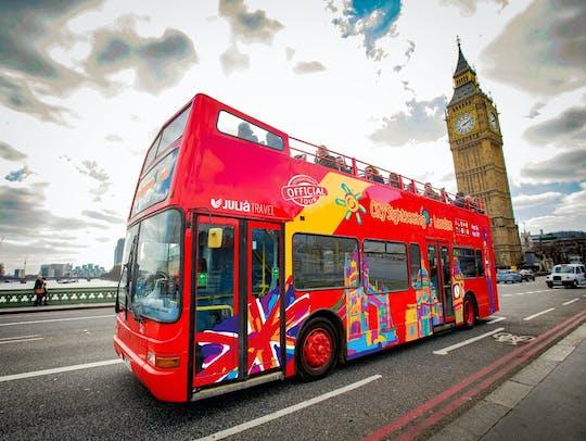 Tour de ônibus panorâmico pela cidade de Londres