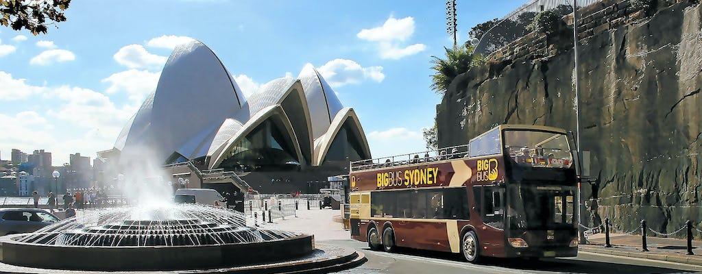 Big Bus tour of Sydney