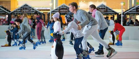 Biglietti per la pista di pattinaggio sul ghiaccio di Dubai