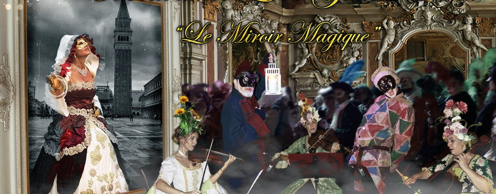 Grande baile do Carnaval Apaixonado 'Le Miroir Magique'