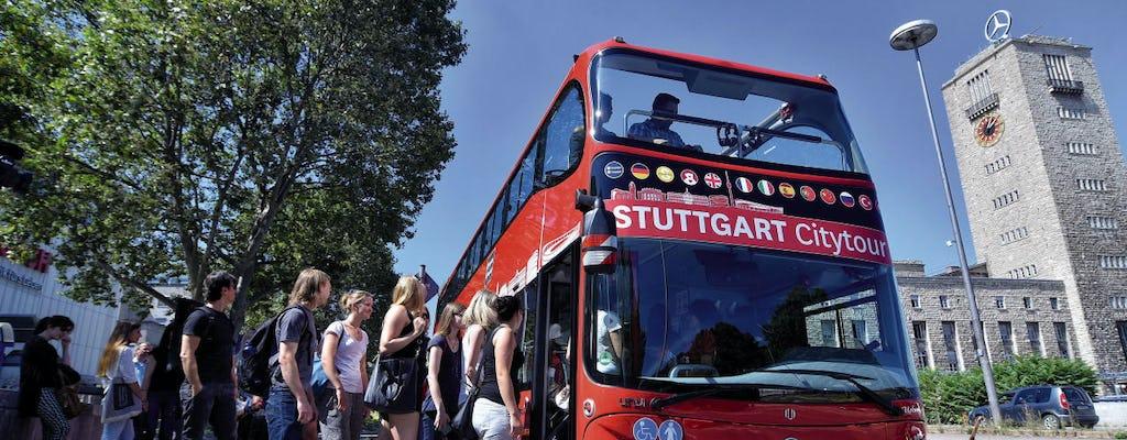 Excursão 24 horas em ônibus panorâmico em Stuttgart - rota azul