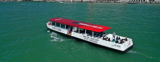 Panoramiczna ekologiczna łódź Venice Hop-on Hop-off z audioprzewodnikiem