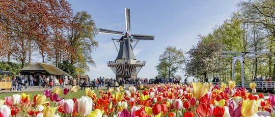 Jednodniowa wycieczka na pola kwiatowe Keukenhof, Volendam i Wiatraki