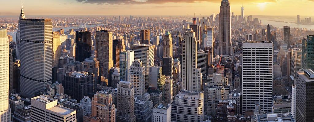 Tour privato in elicottero di New York per coppie da Westchester