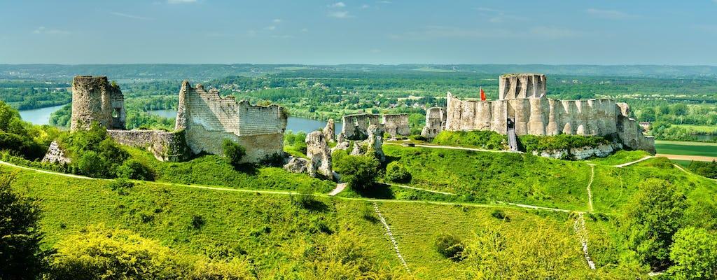 Rouen castles and abbeys private tour