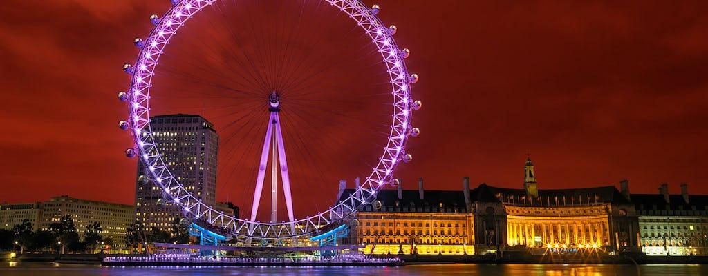 Visite photographique privée à travers Londres, la ville des lumières