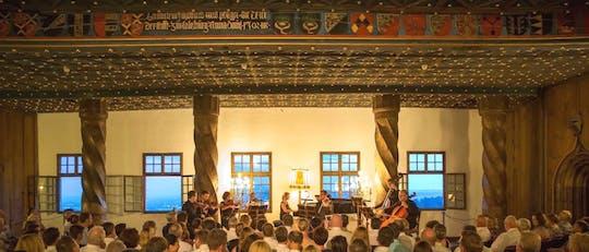 Круиз на Зальцах и лучшее из Моцарта Концерт в крепости с обедом