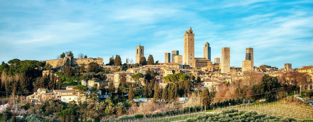Tour privado de Siena y San Gimignano con entradas a la catedral y almuerzo