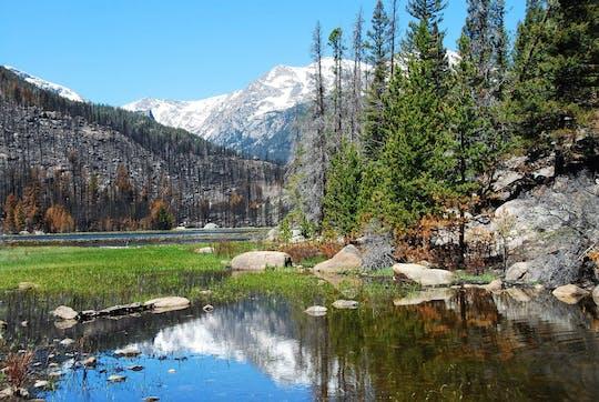 Скалистые горы Национальный парк поход