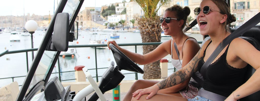 Electric buggy tour of the Three Cities of Malta