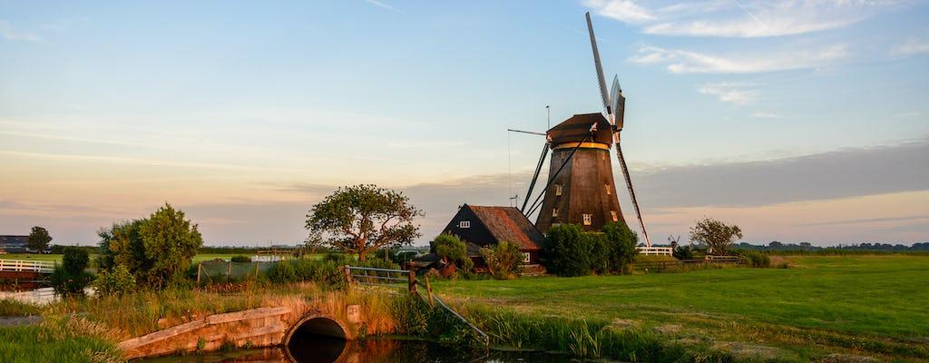 Jednodniowa wycieczka do Leiden i Kagerplassen z Amsterdamu
