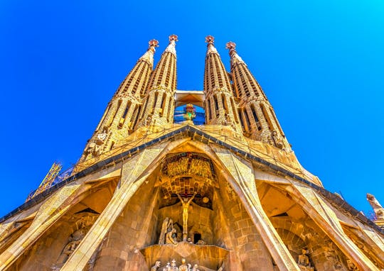 Ingressos para a Sagrada Família com tour de áudio